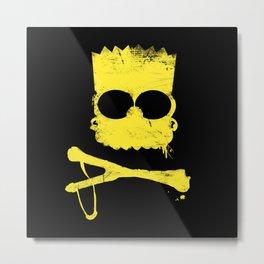 Pochoir - Bart Metal Print