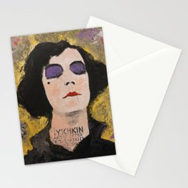 SILENT DIVA IN BACK Stationery Cards