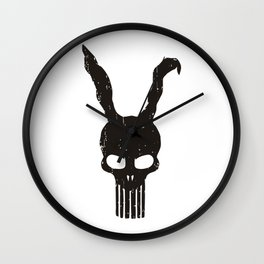 Bunny Punisher Wall Clock