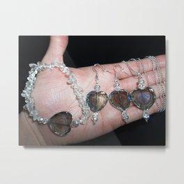 Handmade Jewelry Metal Print