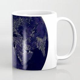 Earth Globe Lights Coffee Mug