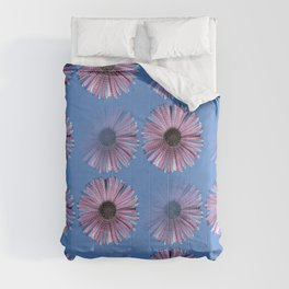 Urban daisy wearing street-cred stripes Comforters