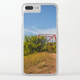 Stephens Bridge, North Dakota, 1 Clear iPhone Case