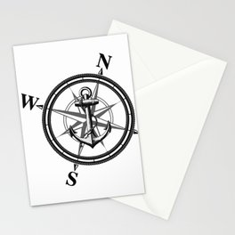 Nautica BW Stationery Cards