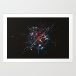 Automatic Art Print