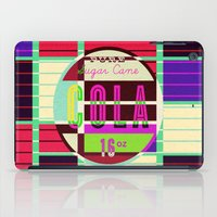 cocaine iPad Cases featuring Cola - Vintage Soft Drink by Fernando Vieira