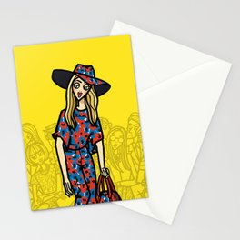 the power of 5. two Stationery Cards