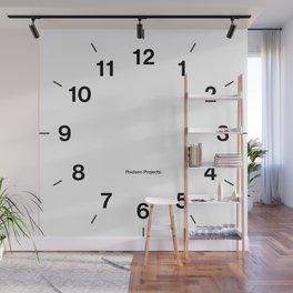 Time Clock Wall Mural