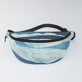 Blue Desert Fanny Pack