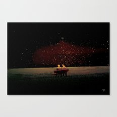 the stars will stay Canvas Print