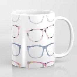 Bespectacled // Watercolor Glasses Print Coffee Mug