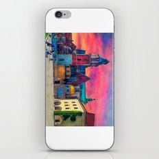 Cracow Wawel art iPhone Skin