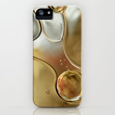 A Touch of Silver and Gold Slim Case iPhone (5, 5s)