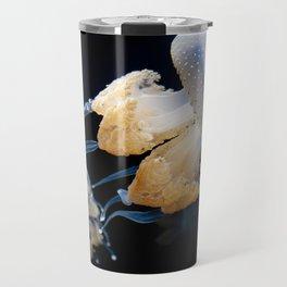 Jellyfish Swimming - Underwater Photography Travel Mug