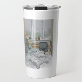 cloud control Travel Mug