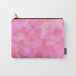 Pink Blush Dots Pattern Carry-All Pouch