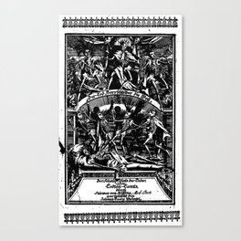 KING DEATH'S RITUAL Canvas Print