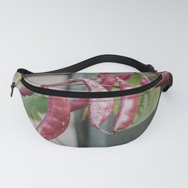 Purple Kidney Beans Fanny Pack