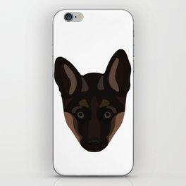German Shepard Puppy Decal iPhone Skin