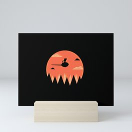 Saiyan Adventure Mini Art Print