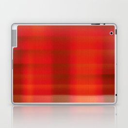 Warm Tartan Rug Laptop & iPad Skin