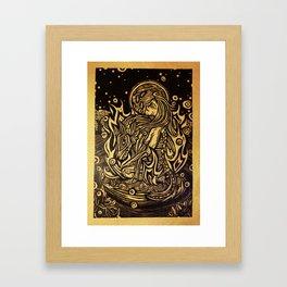 La Loba Framed Art Print