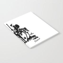 Pablo Picasso Don Quixote 1955 Artwork Shirt, Reproduction Notebook