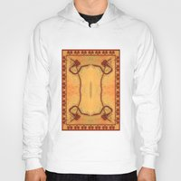 ashton irwin Hoodies featuring Ebola Tapestry-1 by Alhan Irwin by Microbioart
