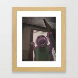 Won't You Say You Love Me Too? Framed Art Print