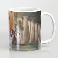 laia Mugs featuring Cleopatra by Laia™