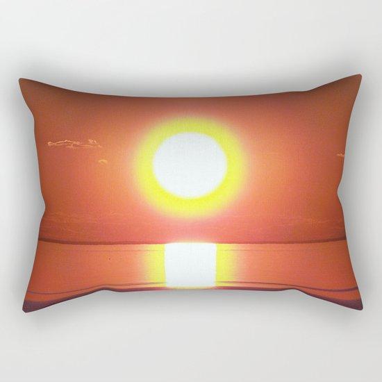 Halo around the Sun Rectangular Pillow