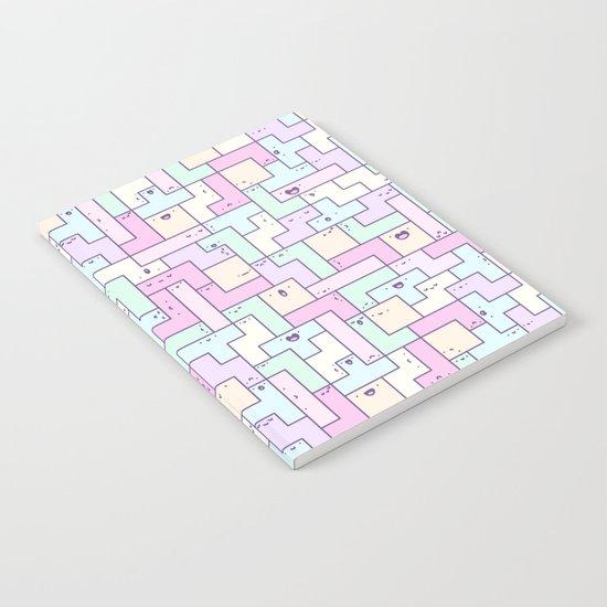 Kawaii Tetris Notebook