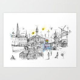Brixton London Art Print
