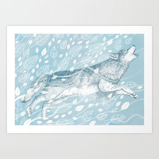 Wild Wind Art Print