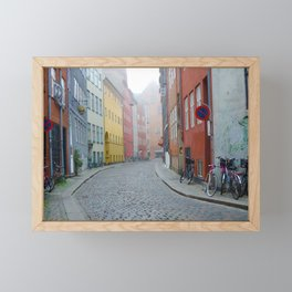 Color and Fog in Copenhagen Framed Mini Art Print