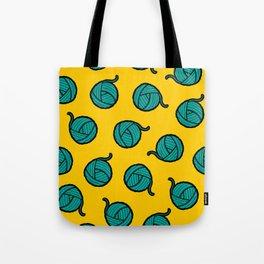 Wool & Yarn Pattern Tote Bag