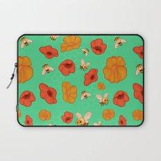 Poppies & Bees Laptop Sleeve