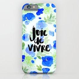 Joie De Vivre - Collaboration by Jacqueline Maldonado and Galaxy Eyes iPhone Case