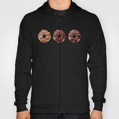 Chocolate Donuts Pattern Hoody