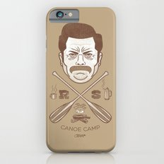 Ron Swanson Canoe Camp (dirty brown variant) Slim Case iPhone 6s