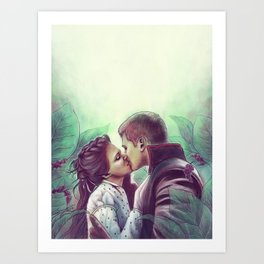 Fairytale Wedding Art Print