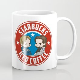 Starbucks - Steve Rogers and Bucky Barnes Iced Coffee  Coffee Mug
