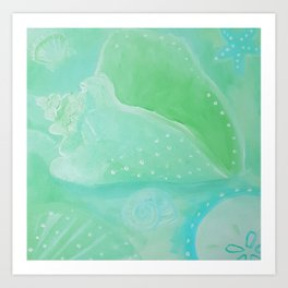 Ocean Bliss Art Print