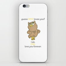 Guess WHO loves You? iPhone & iPod Skin