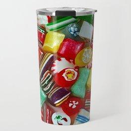 Colorful candy mix Travel Mug