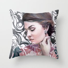 Conspicuous design Throw Pillow