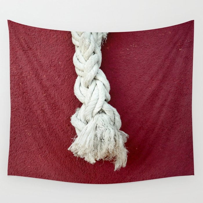 Marine rope Wall Tapestry