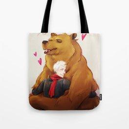 APH: 2pBear hug Tote Bag