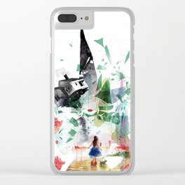 Not in Kansas Anymore v2 Clear iPhone Case