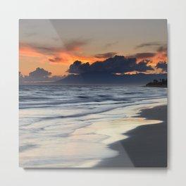 Magic days... Sunset at the beach Metal Print